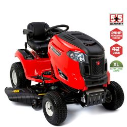 """42"""" Rover Lawn King 24-42 Ride on Lawn Mower"""