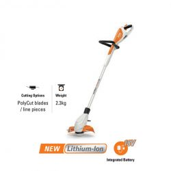 Stihl battery grass trimmerFSA 45 with integrated battery